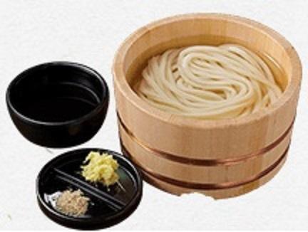 丸亀製麺の釜揚げうどん2